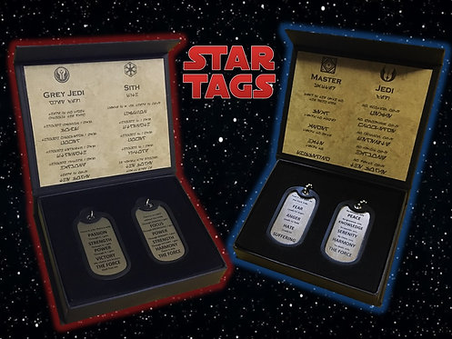 Starwars Inspired Tags