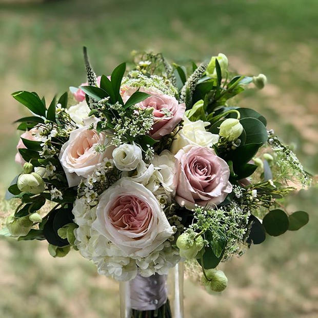 Today's #bouquet for the beautiful Blake