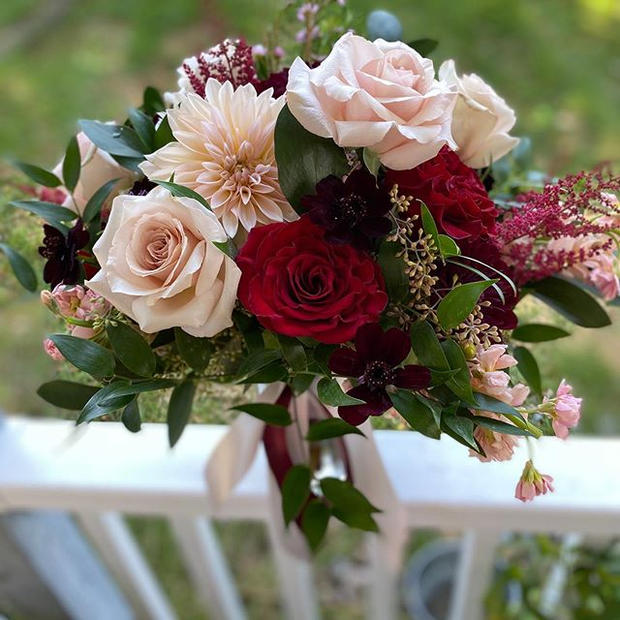 Bouquet Dreams! How about those dahlias