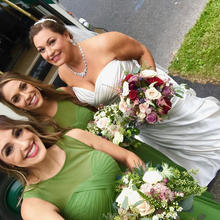 Gorgeous #bride and her stunning #brides