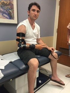To the Operating Table and Back Again: Marshall Kramsky's Tommy John Recovery