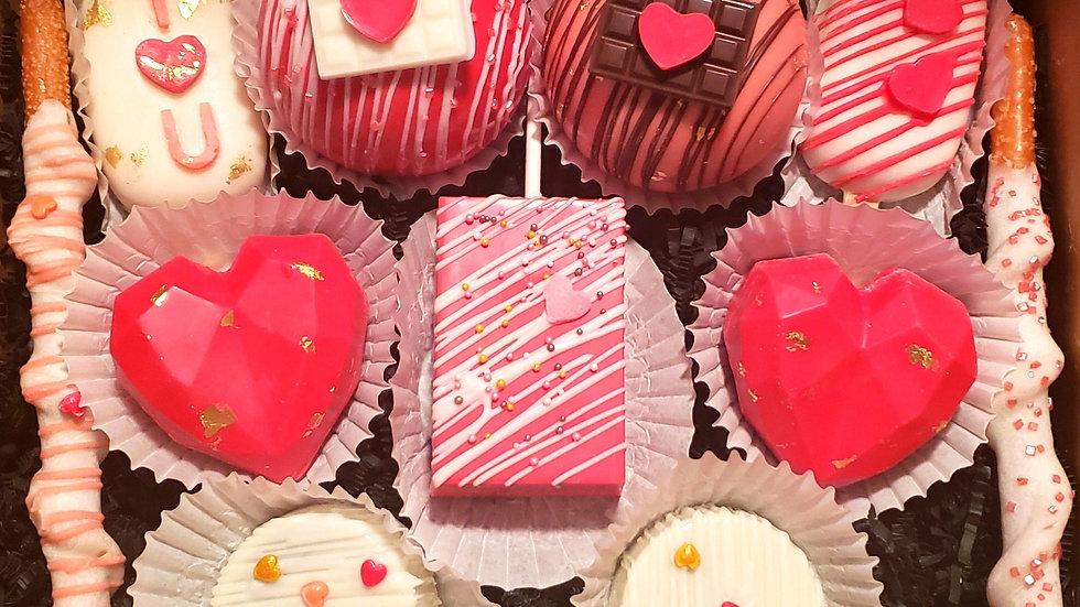 Valentines Deluxe Treat Box
