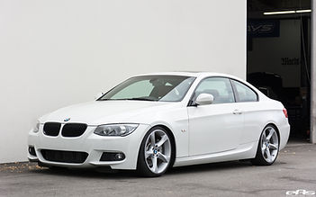 White-BMW-E92-335i-Gets-A-Suspension-Upd