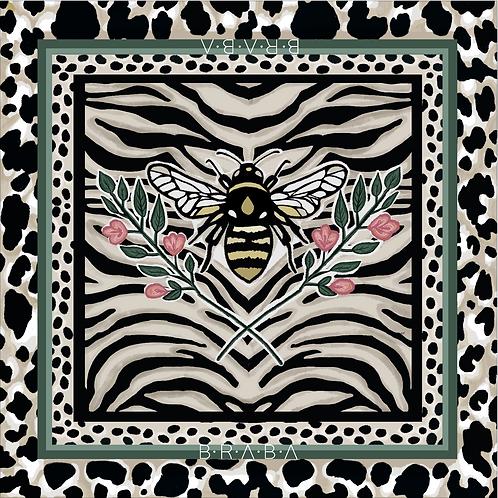 Pañuelo Bee 80x80cm