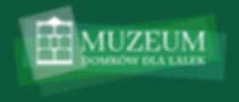 MDdL logo poziome biale plus zielone tlo
