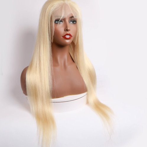 """613 Straight Blonde 16""""Lace Front Wig"""
