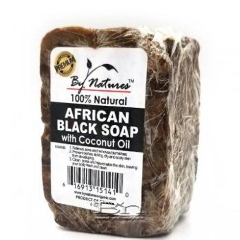 African Black Soap With Coconut Oil