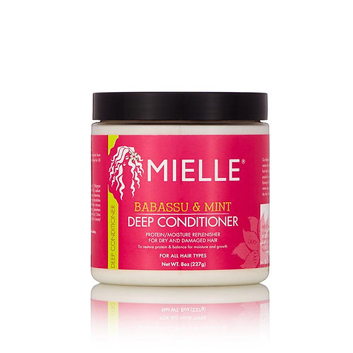 Mielle Babassu Oil and Mint Deep Conditioner
