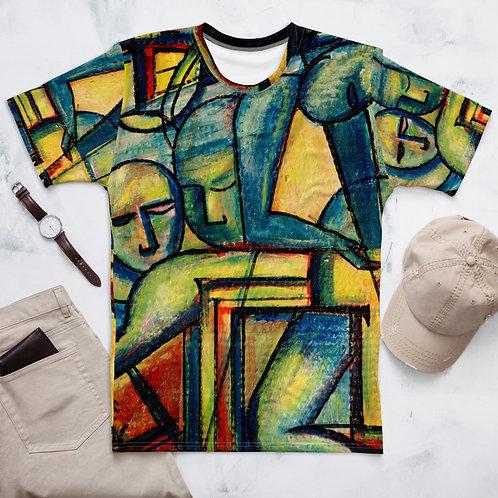 Alberto Abstract Faces T-shirt