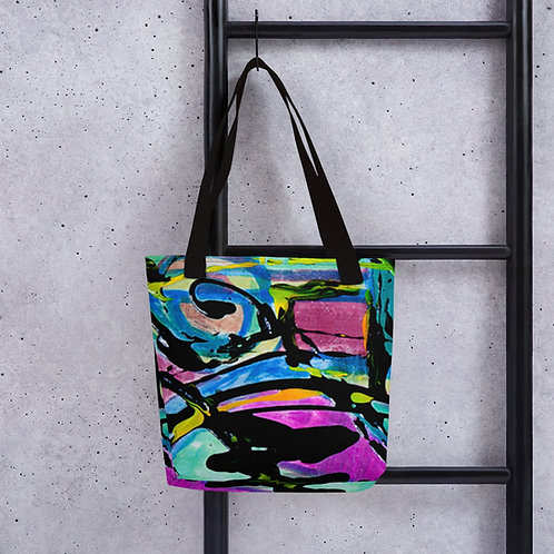 Alberto Abstract Tote bag