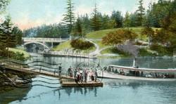 1900s Gorge ferry