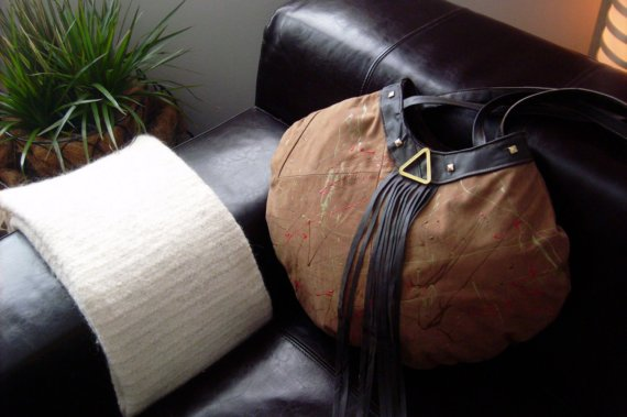 Abstract Hobo in Tan