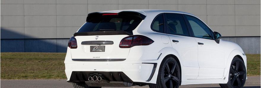 Тюнинг обвес Lumma для Porsche Cayenne 958 в Казани