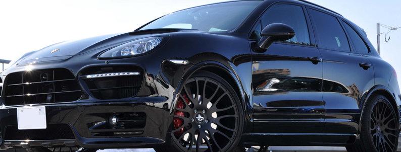 Тюнинг обвес HAMANN SUV для PORSCHE Cayenne 958 в Казани