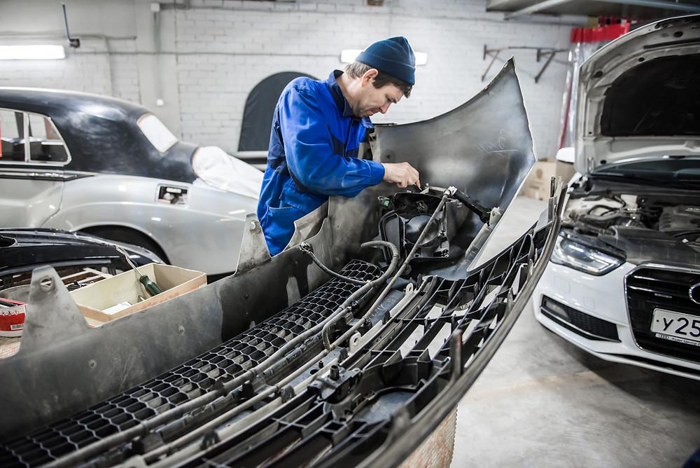 Кузовной ремонт авто в Казани