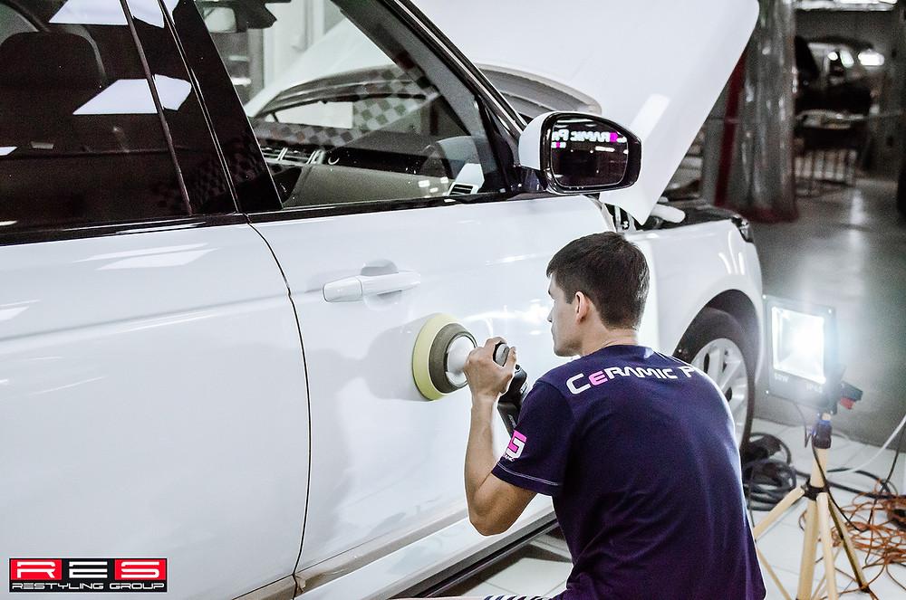 Стоимость полировки авто Казань
