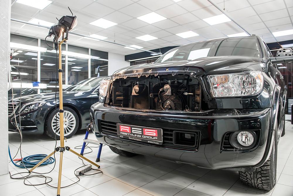 Ремонт пластика в авто Казань