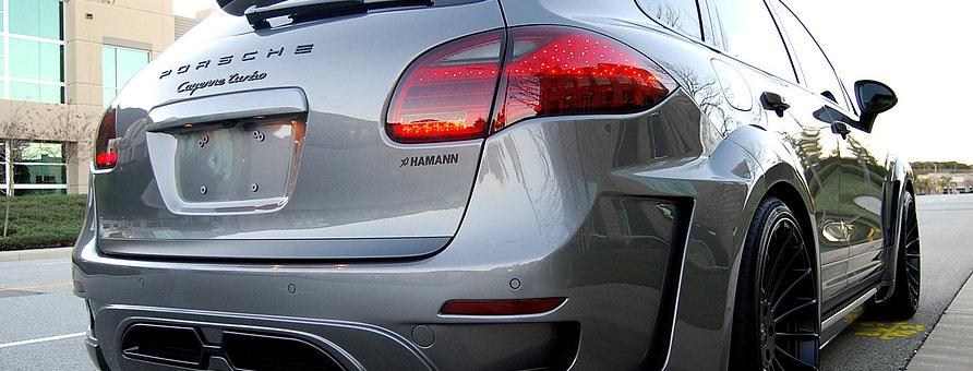 Тюнинг обвес HAMANN для Porsche CayenneGUARDIAN EVO II (реплика) в Казани