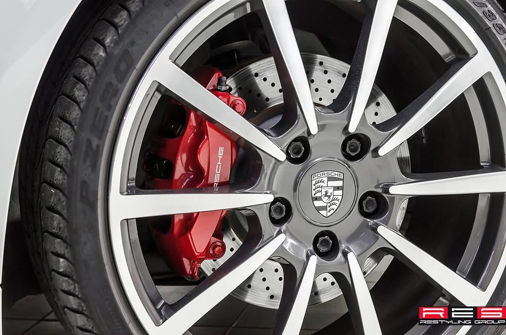 Покраска автомобильных дисков в Казани: литых, штампованных