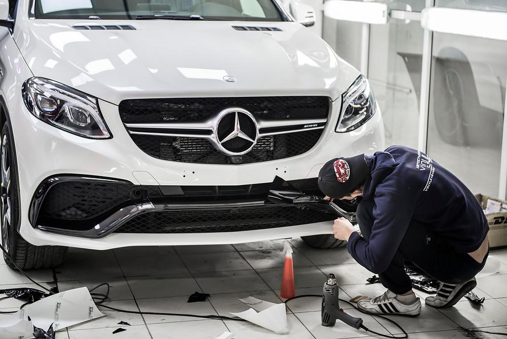 Кузовной ремонт авто Казань