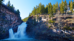 Waterton Waterfall