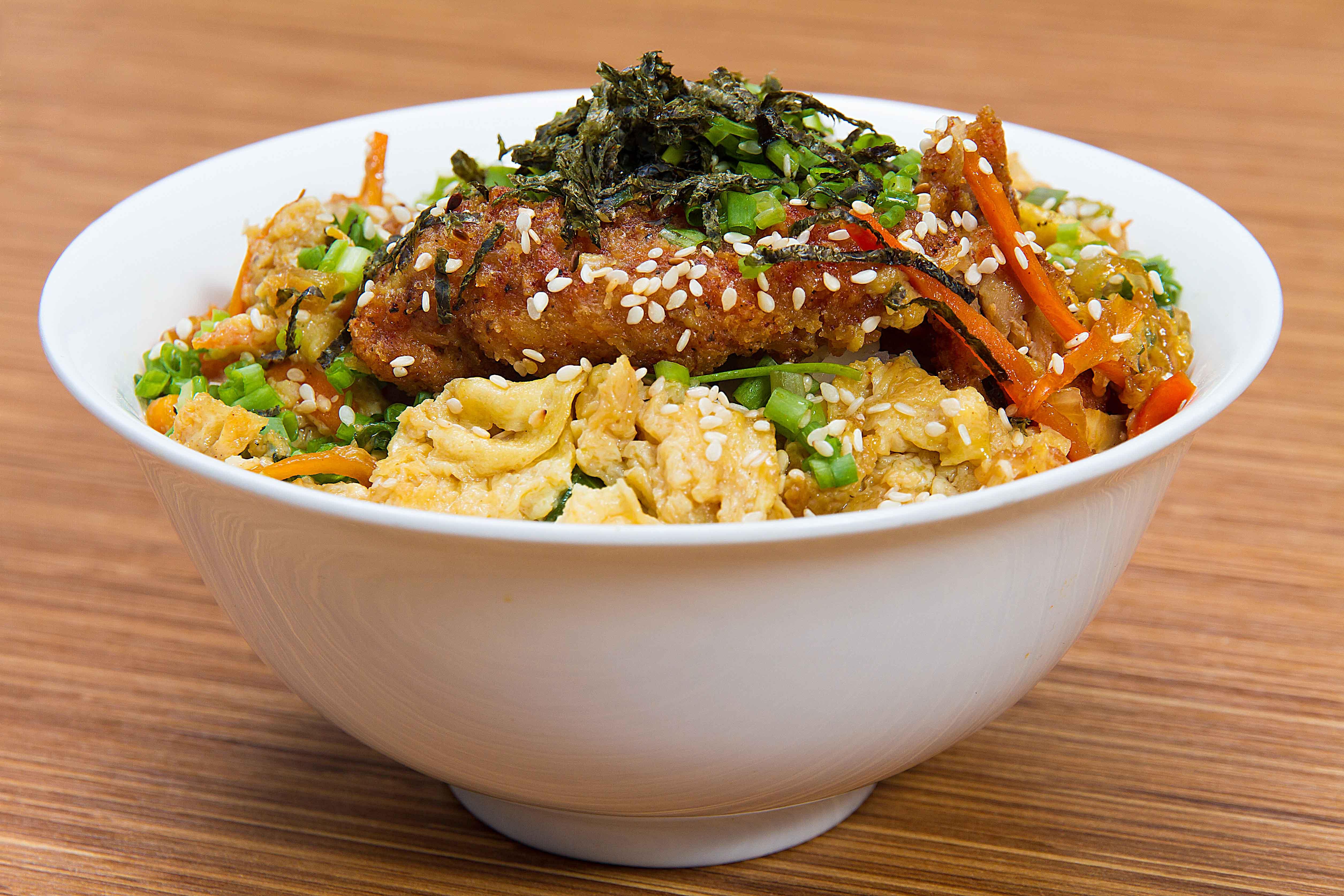 Chicken Katsudon - Gyu-Kaku Restaurant