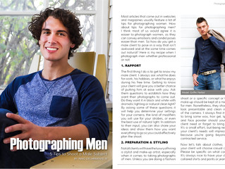 Photographing Men - Goodlight Magazine Article Issue 22