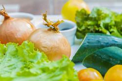 Fresh Vegetables by Nurture Spa