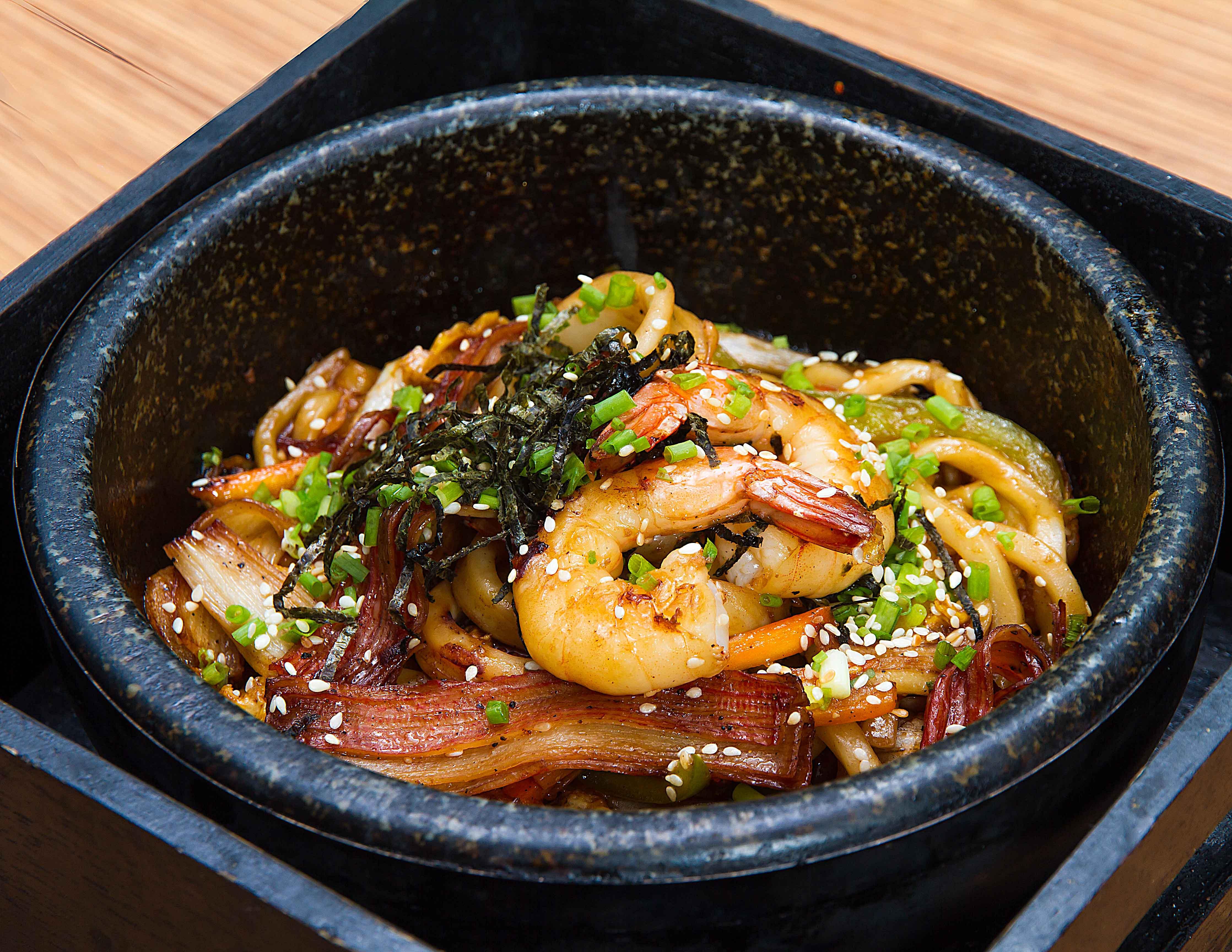 Ishiyaki Seafood Udon