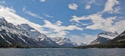 Waterton-Montana Border
