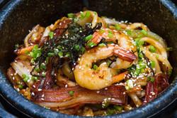 Ishiyaki Seafood Udon Gyu-Kaku Restaurant