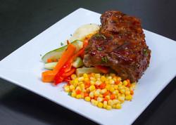Ribs & Vegetables - Bowler Restaura