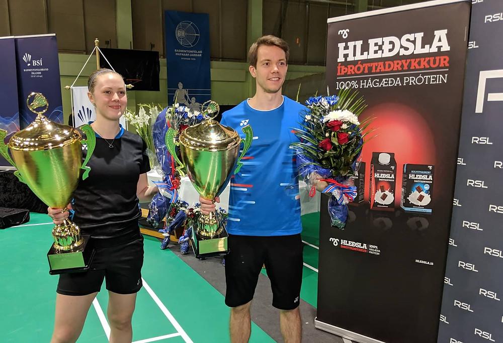 Margrét Jóhannsdóttir og Kári Gunnarsson