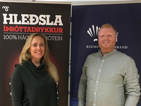 Mjólkursamsalan framlengir samstarfssamning sinn við Badmintonsamband Íslands