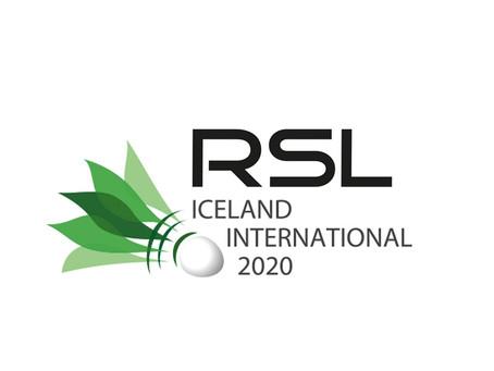 RSL Iceland International 2020 - búið að draga í mótið