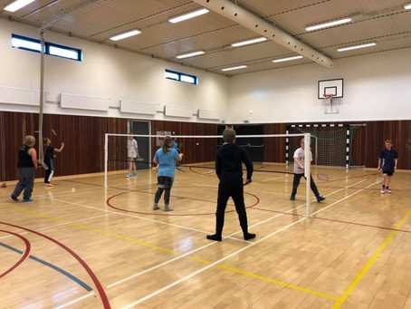 Badmintonfjör í Hrísey