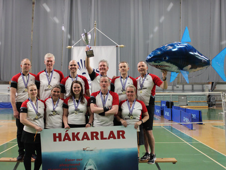 TBR / UMFA - Hákarlar Íslandsmeistarar liða í B.deild
