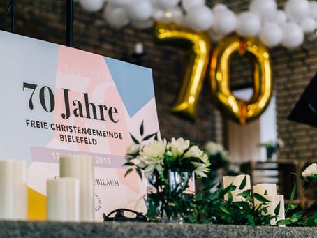 Jubiläumsfest – 70 Jahre Freie Christengemeinde Bielefeld