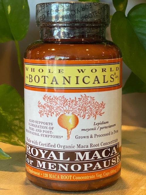 Royal Maca for MENOPAUSE 120 VEGGIE CAPS