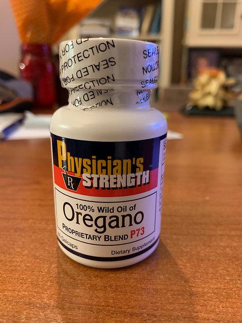PhysicianSuper Strength Oreganol P73 Gelcaps