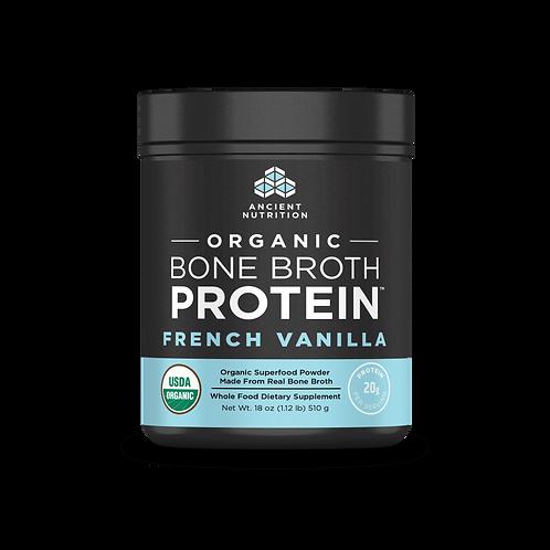 Organic French Vanilla Bone Broth Protein