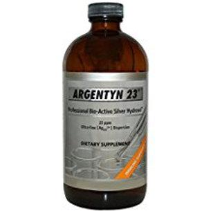 Argentyn 23 Professional Bioactive Silver Hydrosol 22 Parts Per. Billion 4.oz Bo