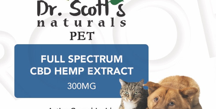 PET CBD HEMP 300MG