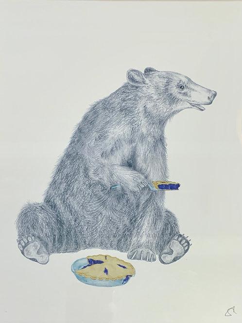 Animal Original Art Print