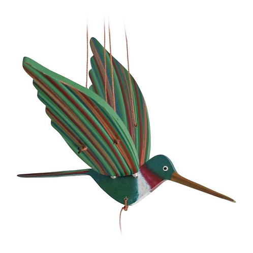 Handcrafted Flying Hummingbird Mobile