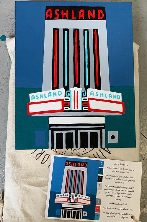 Ashland VA Theatre Commemorative Paint-by-Number Kit