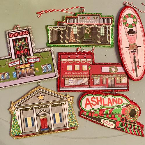 Ashland Ornaments