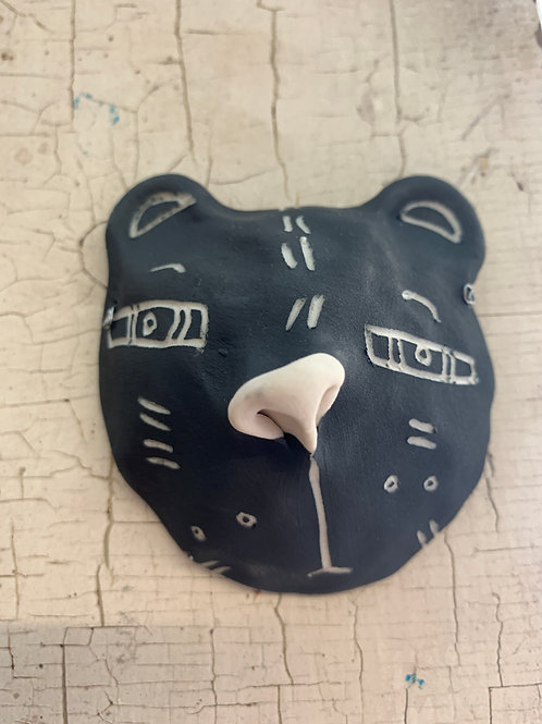 Pottery Critter Heads