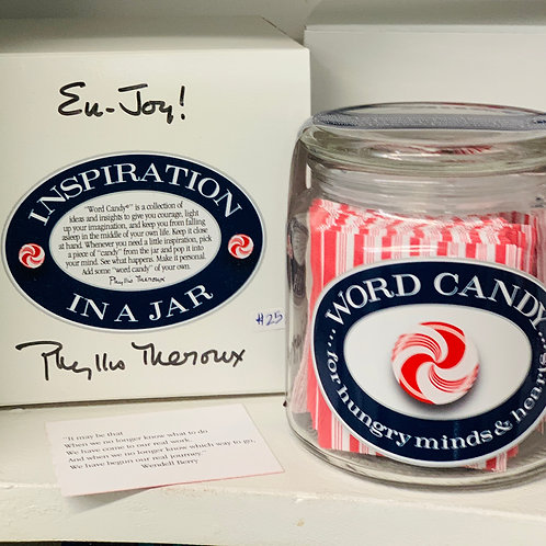 Word Candy - Inspiration in a Jar