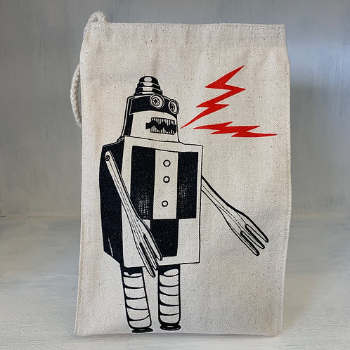 Robot eco-friendly reusable lunch bag